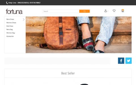 Screenshot of Home Page fortunabangladesh.com - Online Shoe Shopping, Leather Bag Sale - fortunabangladesh.com - captured Dec. 5, 2016