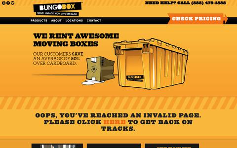 Screenshot of Blog bungobox.com - BungoBox Rent Reusable Plastic Moving Boxes - Moving Supplies | BungoBox - captured Aug. 4, 2018