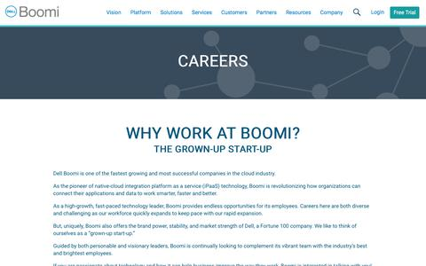 Careers - Dell Boomi
