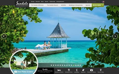 Royal Plantation – All Inclusive Jamaican Resort, Vacation Packages, Deals, & Specials for Honeymoons & More - Sandals
