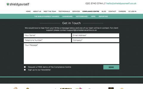 Screenshot of Case Studies Page shieldyourself.co.uk - Case Studies - Shieldyourself : Shieldyourself - captured Dec. 21, 2015