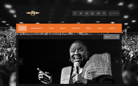 Screenshot of Blog afrosounds.co.uk - Afrosounds - captured April 18, 2016