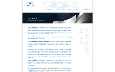 Screenshot of About Page pacificcommerce.com.au - About Pacific Commerce - ecommerce - captured Sept. 27, 2014