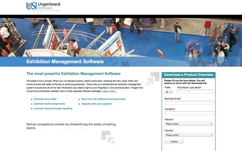Exhibition Management Software | Ungerboeck Software International