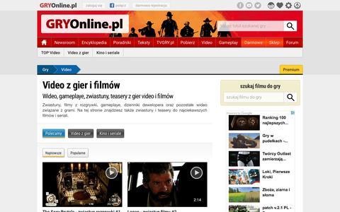 Video z gier i filmĂłw | GRYOnline.pl