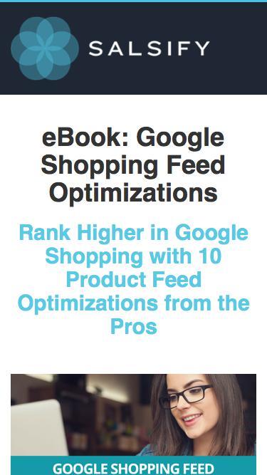 Ebook - Google Shopping Feed Optimization