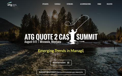 ATG Quote 2 Cast Summit – Emerging Trends in Quote to Cash