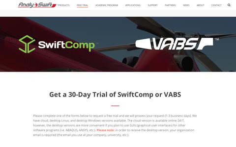 Aviation & Aerospace Trial Pages | Website Inspiration and