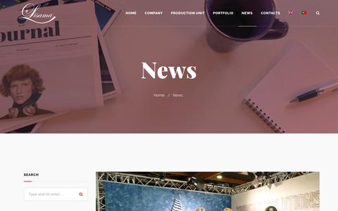 Screenshot of Press Page lisama.pt - News - Lisama - captured Sept. 29, 2018