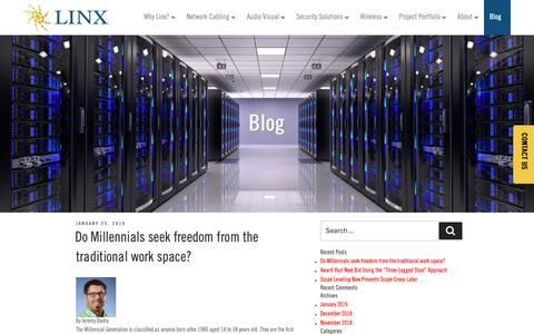 Screenshot of Blog teamlinx.com - Blog - Linx - captured April 7, 2019
