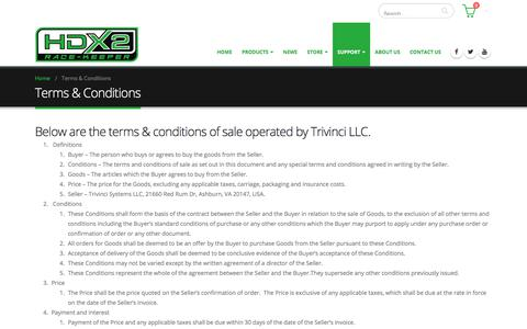 Screenshot of Terms Page race-keeper.com - Terms & Conditions – Race-Keeper - captured Sept. 20, 2018