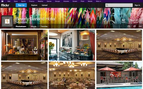 Screenshot of Flickr Page flickr.com - Flickr: TheBeverlyGarland's Photostream - captured Oct. 26, 2014