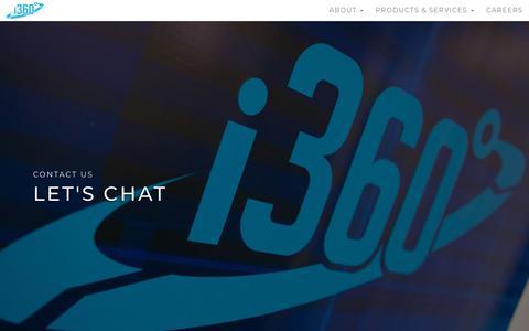Screenshot of Contact Page i-360.com - Contact Us - New - i360 - captured Sept. 24, 2018