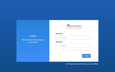 Academy Loan Center powered by Academy Mortgage