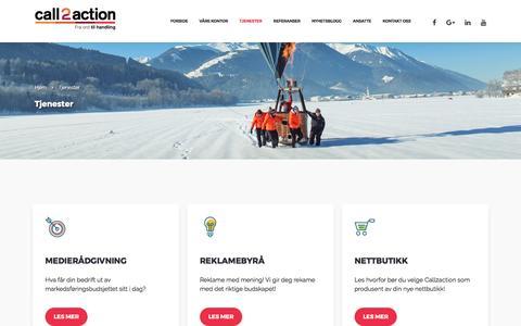 Tjenester - Call2action Stavanger AS