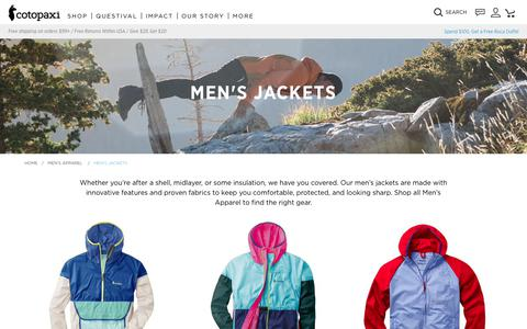 Men's Jackets | Lifestyle and Technical Outerwear.                      – Cotopaxi