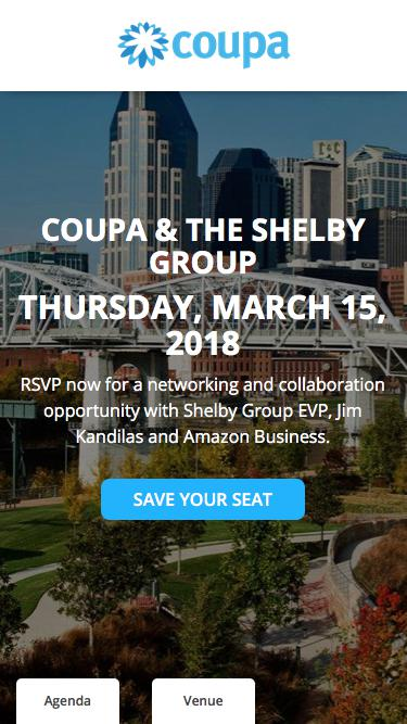 Coupa Lunch & Learn | Reserve Your Seat