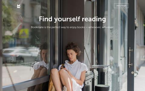 Bookmate — the easiest way to read and discover great books