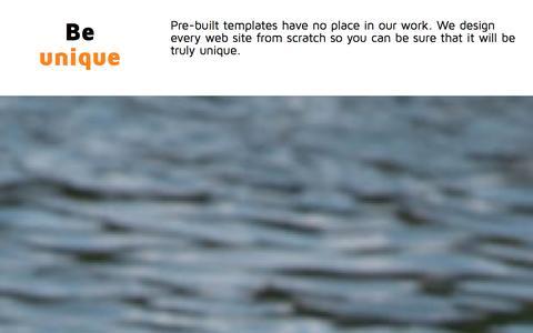 Screenshot of About Page compwebdesign.com captured Jan. 30, 2016
