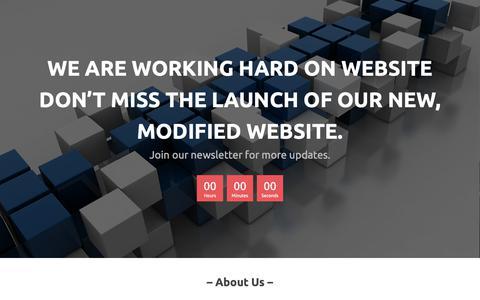Screenshot of Home Page peopleofafrica.org - My Website – Built with SiteBuilder - captured Sept. 27, 2018