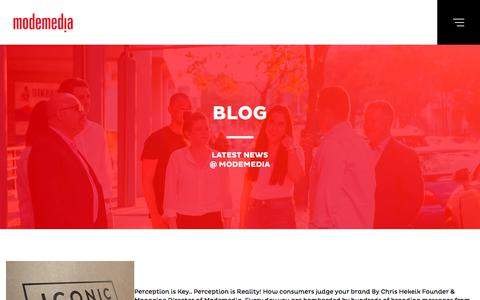 Screenshot of Blog modemedia.com.au - Blog | Modemedia - captured Sept. 21, 2018