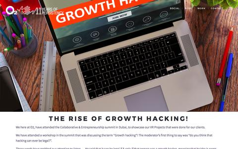 The Rise of Growth Hacking! - O2 Advertising