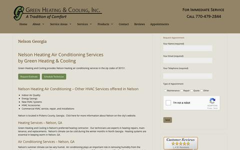 Nelson Heating Air Conditioning by Green Heating and Cooling