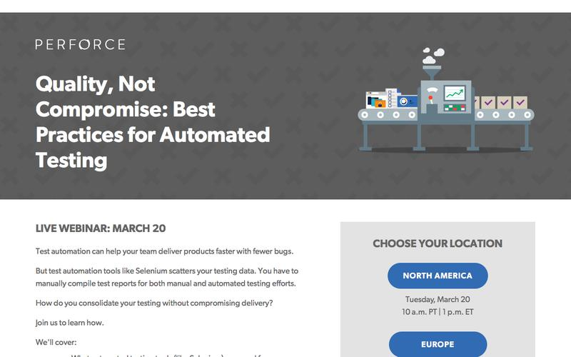 Perforce Software: Connect teams, protect IP, support rapid release