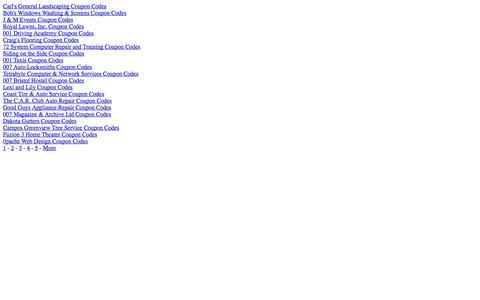 Screenshot of Site Map Page shopaneer.com captured Sept. 22, 2014