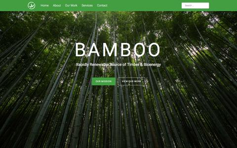 Screenshot of Home Page bamboo-plantations.com - BAMBOO | Bamboo – a renewable source of timber and bioenergy - captured Feb. 7, 2016