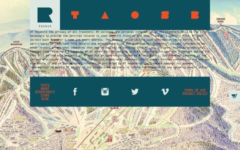 Screenshot of Privacy Page roxbur.com - ROXBUR | PRIVACY POLICY - captured Oct. 6, 2014