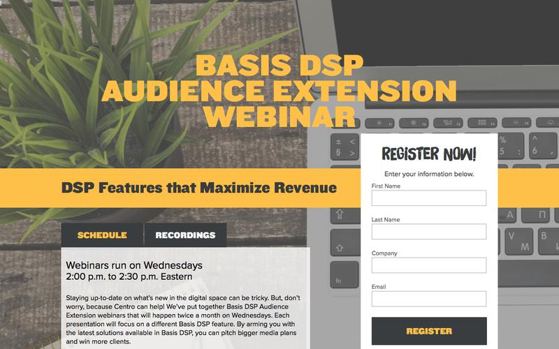 Basis DSP Audience Extension