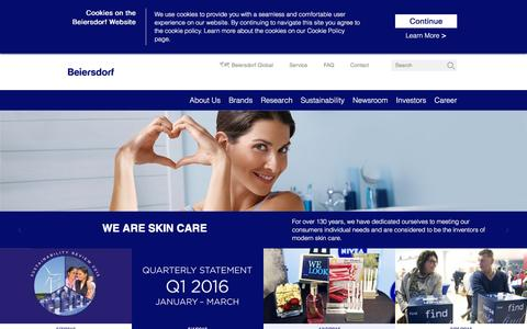 Beiersdorf - Skin care is everything to us