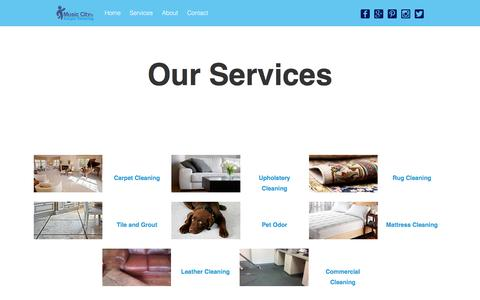 Services – Music City Carpet Cleaning