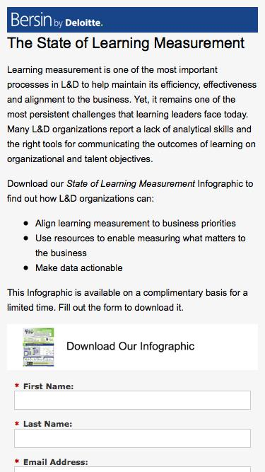 The State of Learning Measurement