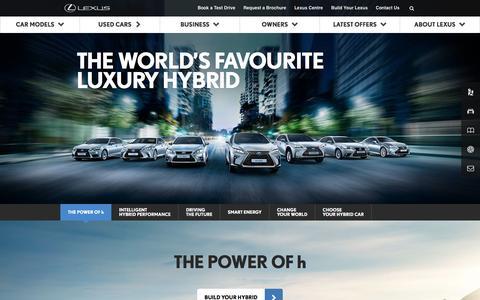 Full Hybrid Cars | Lexus UK