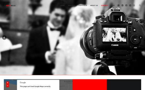 Screenshot of Contact Page studiowideangle.com - Contact – Studio Wide Angle - captured Oct. 20, 2018
