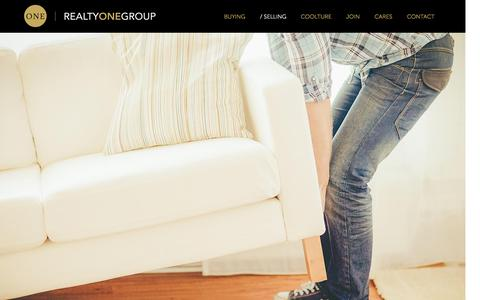 Screenshot of Services Page realtyonegroup.com - Selling Your Home: How to Sell Your House   Realty ONE Group - captured Oct. 2, 2015