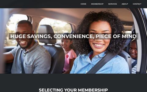 Screenshot of Signup Page macmembers.com - Join – MAC Members - captured Dec. 16, 2018