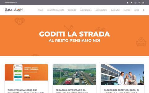 Screenshot of Blog tiassisto24.it - Home - Il blog di tiassisto24 - captured Oct. 19, 2018