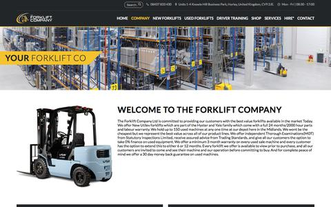 Screenshot of Team Page theforkliftcompany.net - Company - The Forklift Company - captured Nov. 16, 2017