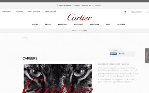 Careers - Cartier