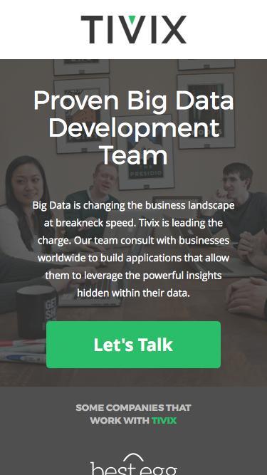 Big Data   Tivix