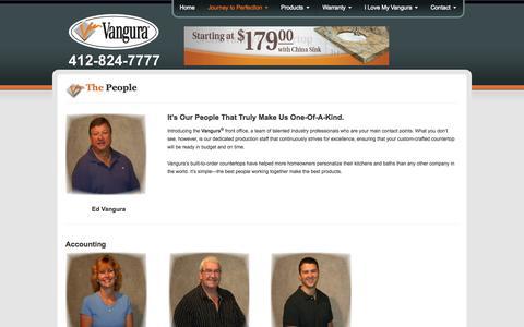 Screenshot of Team Page vangura.com - People - VanguraVanguraee - captured Oct. 27, 2014