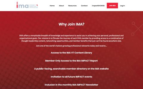 Screenshot of Signup Page imanetwork.org - Join IMA - IMA Network - captured Dec. 10, 2019