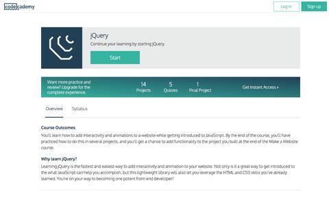 jQuery | Codecademy