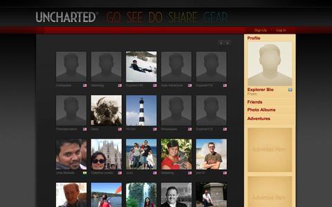 Screenshot of Team Page uncharted.net - Uncharted - captured Dec. 20, 2015
