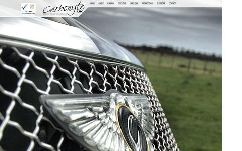 Screenshot of Contact Page carbonyte.co.uk - Carbonyte UK - Bespoke Vehicle Manufacturers - captured Oct. 1, 2014