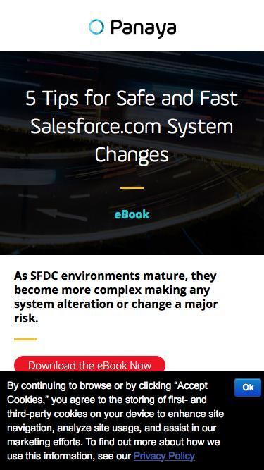 5 Tips for Safe, Fast Salesforce.com System Changes