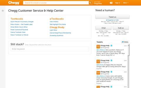 Screenshot of Contact Page chegg.com - Chegg Customer Service Phone Number & Help Center | Chegg.com - captured July 18, 2014